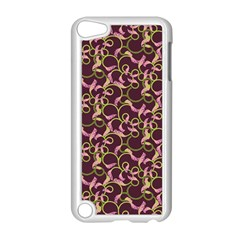 Plaid pattern Apple iPod Touch 5 Case (White)