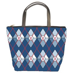 Diamonds and Lasers Argyle  Bucket Bags