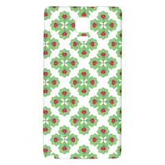 Floral Collage Pattern Galaxy Note 4 Back Case