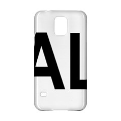 Albania Country Code  Samsung Galaxy S5 Hardshell Case