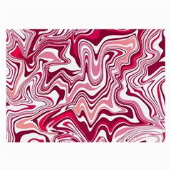 Pink Marble Pattern Large Glasses Cloth (2-Side)