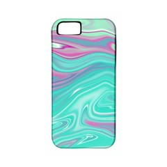 Iridescent Marble Pattern Apple iPhone 5 Classic Hardshell Case (PC+Silicone)
