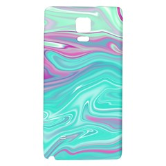 Iridescent Marble Pattern Galaxy Note 4 Back Case