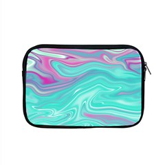 Iridescent Marble Pattern Apple Macbook Pro 15  Zipper Case