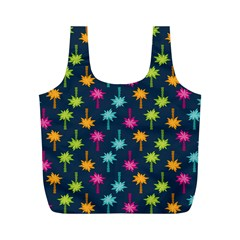 Funny Palm Tree Pattern Full Print Recycle Bags (m)