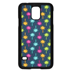 Funny Palm Tree Pattern Samsung Galaxy S5 Case (Black)