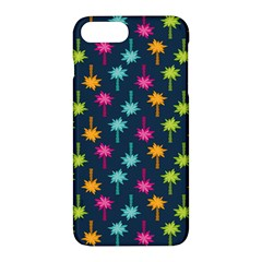 Funny Palm Tree Pattern Apple Iphone 7 Plus Hardshell Case