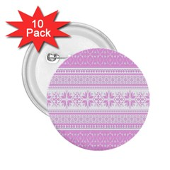 Pattern 2 25  Buttons (10 Pack)