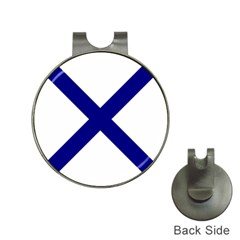 Saint Andrew s Cross Hat Clips With Golf Markers