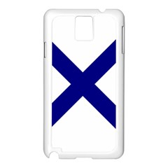 Saint Andrew s Cross Samsung Galaxy Note 3 N9005 Case (White)