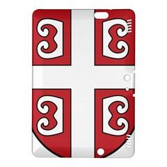 Serbian Cross Shield Kindle Fire HDX 8.9  Hardshell Case