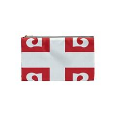 Serbian Cross  Cosmetic Bag (Small)