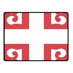 Serbian Cross  Fleece Blanket (small)
