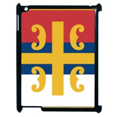 Flag of The Serbian Orthodox Church Apple iPad 2 Case (Black)