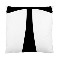 Tau Cross  Standard Cushion Case (one Side)