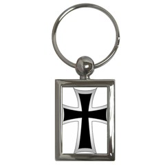 Cross Of The Teutonic Order Key Chains (rectangle)
