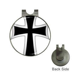 Cross Of The Teutonic Order Hat Clips With Golf Markers