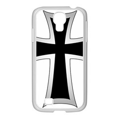 Cross of the Teutonic Order Samsung GALAXY S4 I9500/ I9505 Case (White)