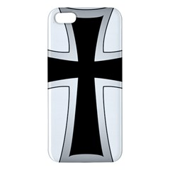 Cross of the Teutonic Order iPhone 5S/ SE Premium Hardshell Case