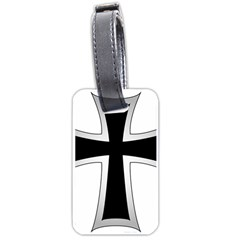 Cross Of The Teutonic Order Luggage Tags (one Side)