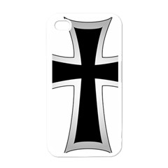 Cross of the Teutonic Order Apple iPhone 4 Case (White)