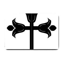 Caucasian Albanian Cross Small Doormat