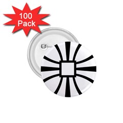 Canterbury Cross  1.75  Buttons (100 pack)
