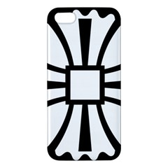 Canterbury Cross  iPhone 5S/ SE Premium Hardshell Case