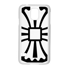 Canterbury Cross  Samsung Galaxy S5 Case (White)