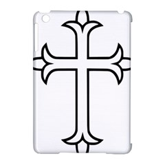 Western Syriac Cross Apple Ipad Mini Hardshell Case (compatible With Smart Cover)