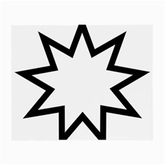Baha i Nine-Pointed Star Small Glasses Cloth (2-Side)