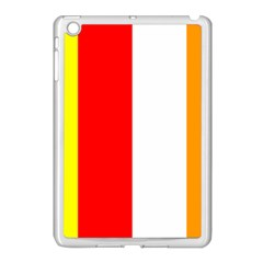International Flag of Buddhism Apple iPad Mini Case (White)