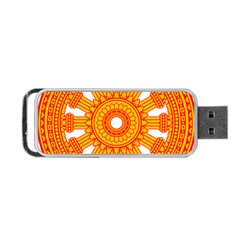 Dharmacakra Portable USB Flash (One Side)
