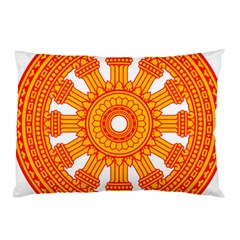 Dharmacakra Pillow Case (Two Sides)