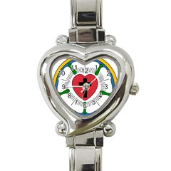 Luther Rose  Heart Italian Charm Watch