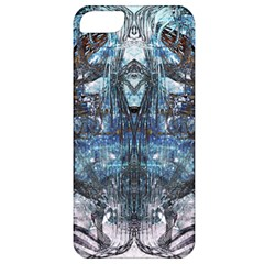 Angel Wings Blue Grunge Texture Apple iPhone 5 Classic Hardshell Case
