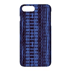 Wrinkly Batik Pattern   Blue Black Apple Iphone 7 Plus Hardshell Case