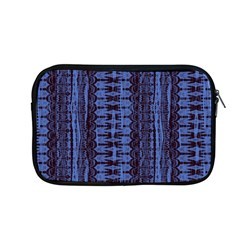Wrinkly Batik Pattern   Blue Black Apple Macbook Pro 13  Zipper Case