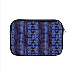 Wrinkly Batik Pattern   Blue Black Apple Macbook Pro 15  Zipper Case