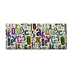 Colorful Retro Style Letters Numbers Stars Cosmetic Storage Cases