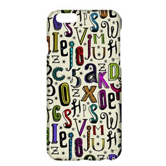 Colorful Retro Style Letters Numbers Stars Apple Iphone 6 Plus/6s Plus Hardshell Case