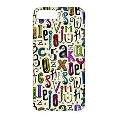 Colorful Retro Style Letters Numbers Stars Apple Iphone 7 Plus Hardshell Case