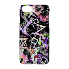 Chaos With Letters Black Multicolored Apple Iphone 7 Hardshell Case