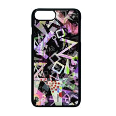 Chaos With Letters Black Multicolored Apple Iphone 7 Plus Seamless Case (black)
