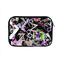 Chaos With Letters Black Multicolored Apple Macbook Pro 15  Zipper Case