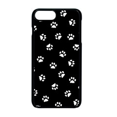 Footprints Cat White Black Apple Iphone 7 Plus Seamless Case (black)