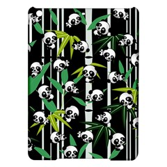 Satisfied And Happy Panda Babies On Bamboo iPad Air Hardshell Cases