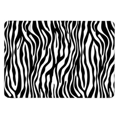 Zebra Stripes Pattern Traditional Colors Black White Samsung Galaxy Tab 8 9  P7300 Flip Case