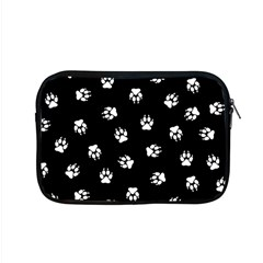 Footprints Dog White Black Apple Macbook Pro 15  Zipper Case
