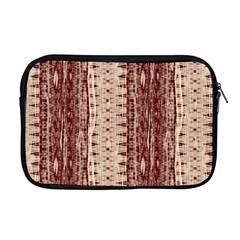 Wrinkly Batik Pattern Brown Beige Apple Macbook Pro 17  Zipper Case